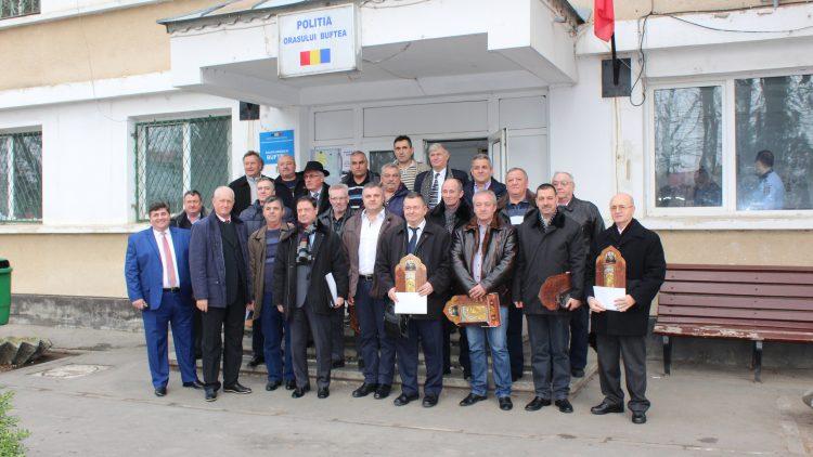 Primarul Pistol Gheorghe i-a readunat pe foștii poliţişti ai oraşului