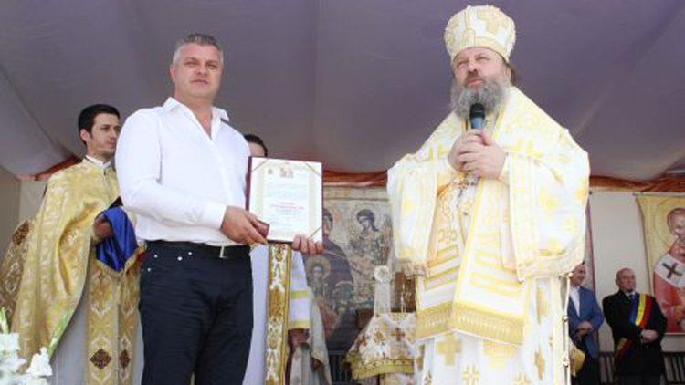 Primarul Gheorghe Pistol a primit Ordinul Sf. Martiri Brâncoveni pentru mireni