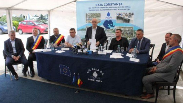 RAJA Constanța modernizează rețelele de apă și canalizare din Crevedia