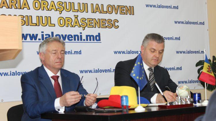 Vizita Consiliului Local Buftea și a primarului Pistol Gheorghe în Republica Moldova, orașul Ialoveni