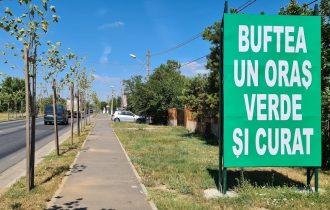 Modernizarea trotuarelor din orașul Buftea