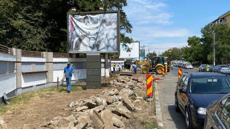 Noi lucrări de modernizare în cartierul Studio