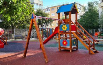 """Modernizarea parcului """"ANL"""" – Str. Oltului – Cartier Centru"""