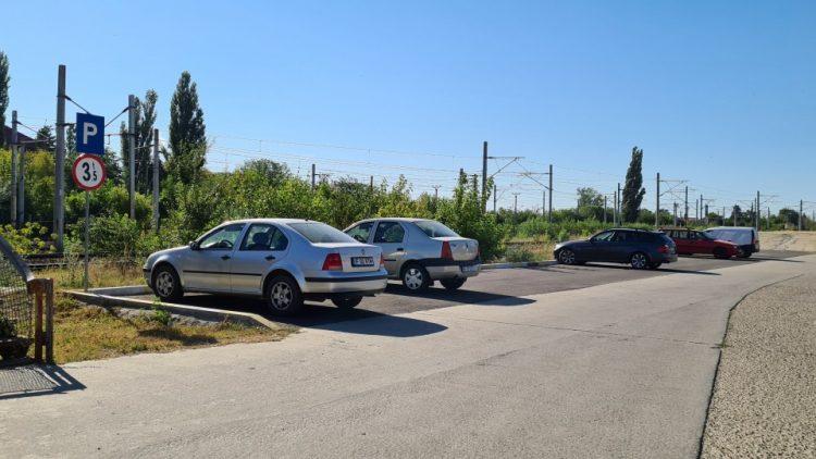 Amenajare parcare – Gara Buftea
